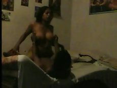 Indian couples fucking very hard in their bedroom part 2