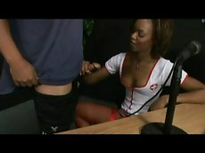 Marie luv hosts the nasty nurse show