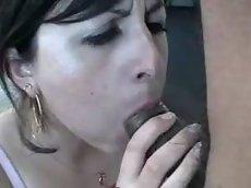 Boquete cremoso - esporrando na boca toda
