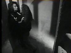 Erika bella in black and white scene