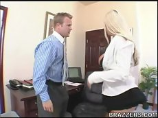 Nikki benz - sales.manager in big tits at work