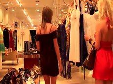 Molly cavalli and victoria lawson sexy shoppers