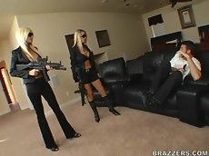 Nikki benz and puma swede - babes in black