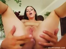Anastacia gets her ass fucked and creamed - all internal