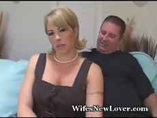 Big cock friend fucks my wife